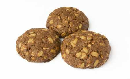 Kakaové sušenky z ovesných vloček