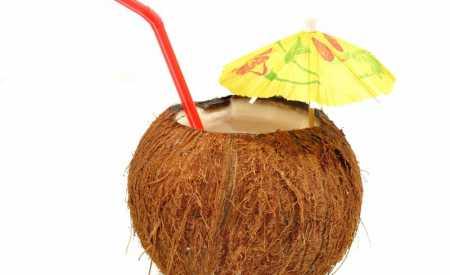 Koktejl v kokosu pro děti