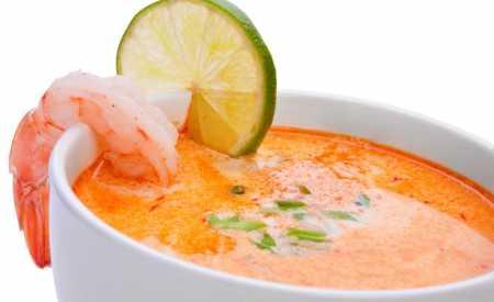 Krevetová polévka