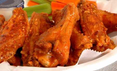 Kuřecí křídla Buffalo