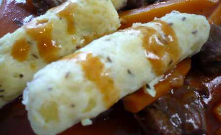 Německé bramborové knedlíky