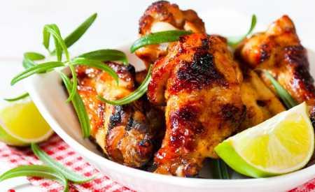 Pečené kuře s limetkou