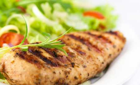 Pikantní kuřecí steaky