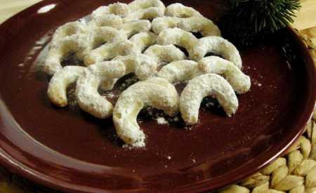 Pravé vanilkové rohlíčky