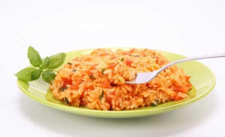 Rýže s rajčaty